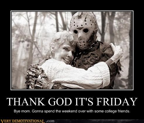 firday,hilarious,jason vorhees,mom