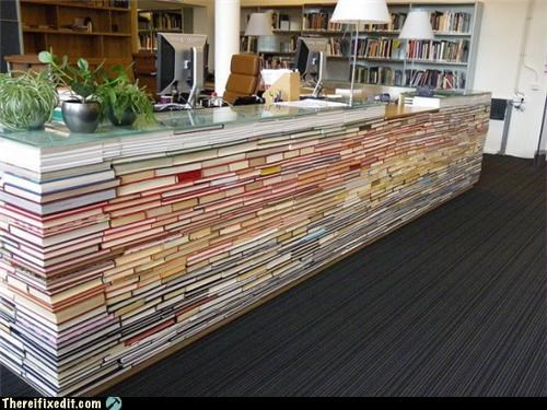 what the library does with old books