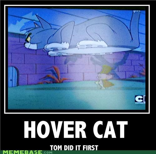 hilarious,HoverCat,internets,tom-jerry
