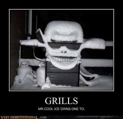 GRILLS MR.COOL ICE OWNS ONE TO.