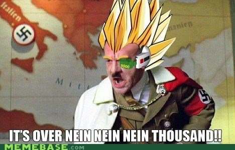 9000,downfall,Memes,nein,over