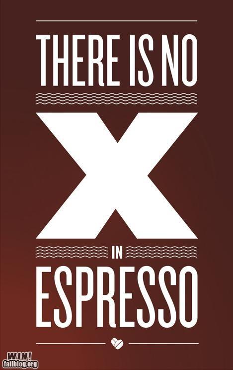 coffee design espresso poster spelling - 4757277696