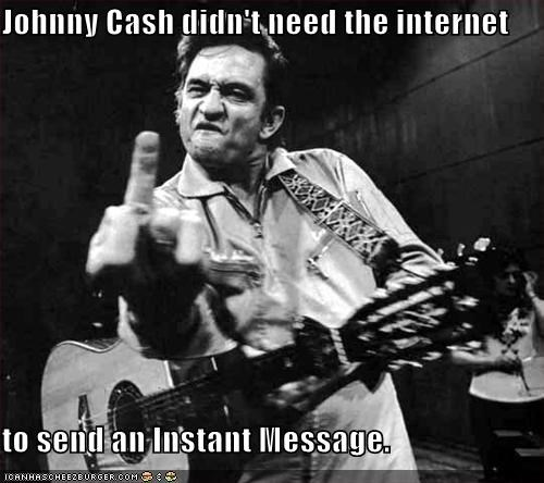 celeb funny johnny cash Music