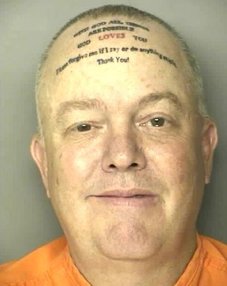 mug shot Robert Norton Kennedy Terrible Tattoo - 4757365504