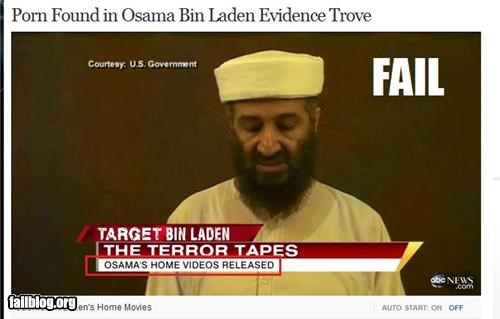 computers innuendo news osama Osama Bin Laden politics pr0n