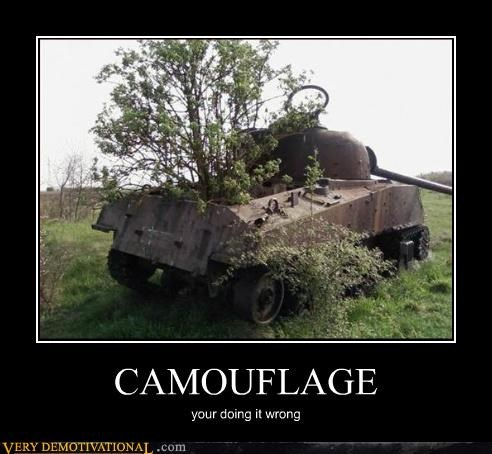 camouflage doing it wrong hilarious