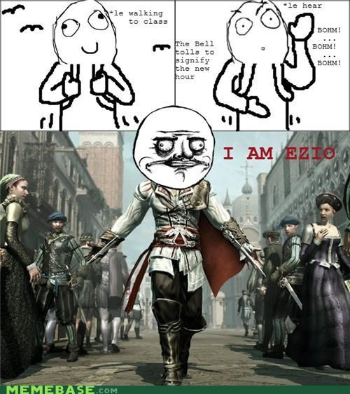 assassins creed,bohm,ezio,me gusta,Rage Comics