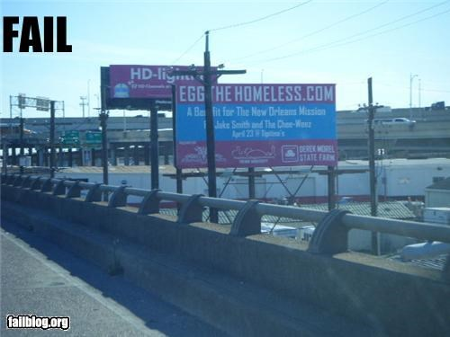 billboard charity easter failboat g rated homeless religion - 4759126784