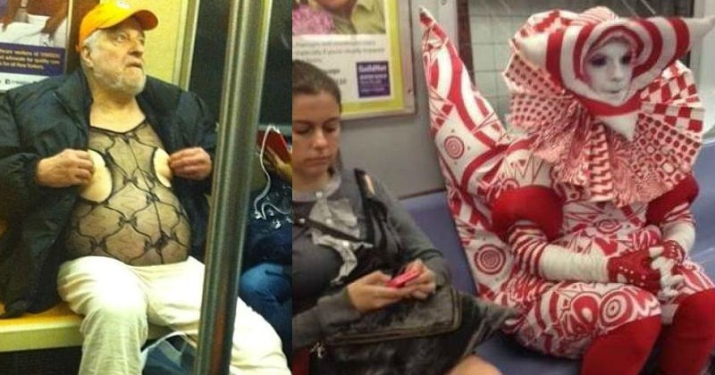Collection of NYC subway pictures that are full of cringe and WTF.