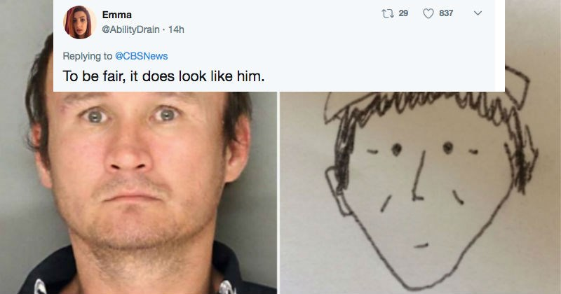 FAILS twitter FAIL police drawing sketch - 4760069