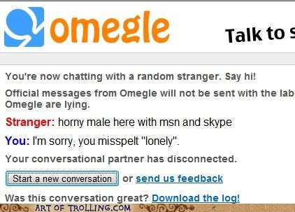horny lonely naughty chat Omegle