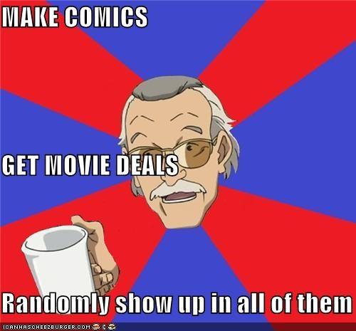 comics Memes movies Spider-Man stan lee superheroes troll - 4761921792