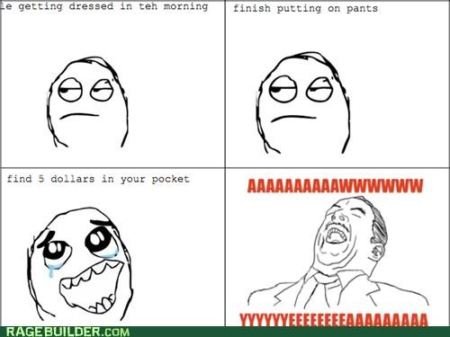 cash money pockets Rage Comics - 4761986816