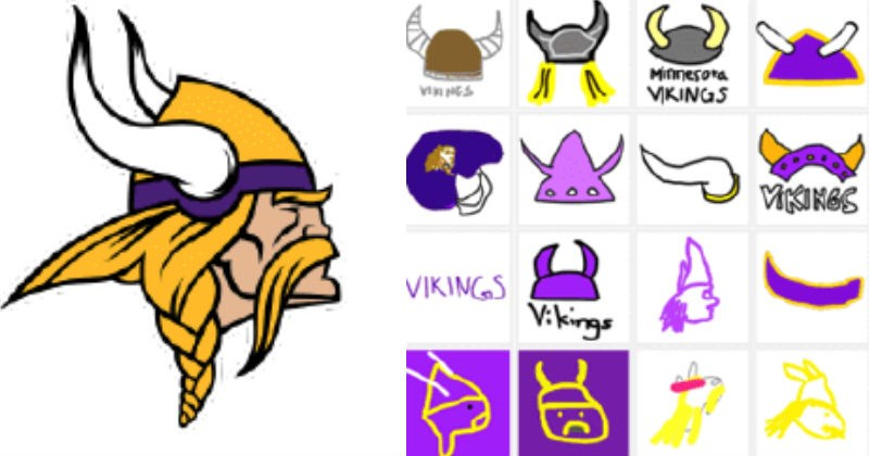 NFL fans try and fail to draw different logos from memory, and the results are hilarious.