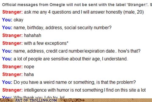 liar Omegle personal information weird name - 4762726400