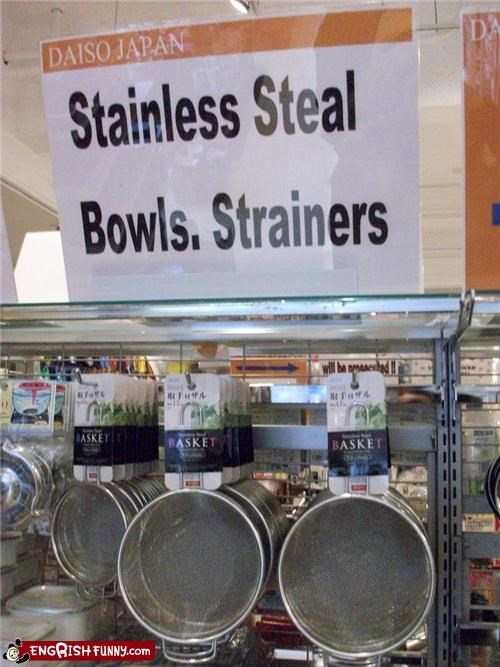 Stainless Steal