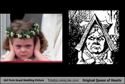 Girl from Royal Wedding Picture Totally Looks Like Original Queen of Hearts