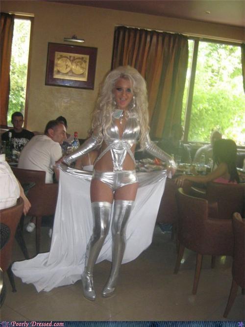 silver stripper - 4764313600