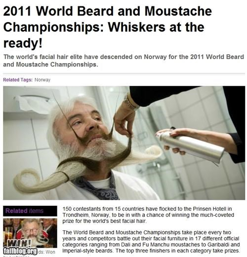 beard,competition,completely relevant news,facial hair,mustache