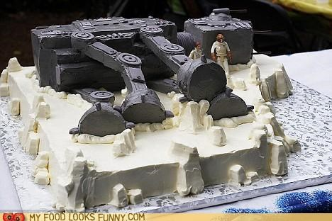 admiral ackbar,at at,cake,down,Hoth,mon mothma,star wars