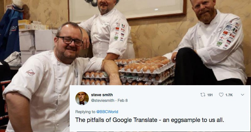 Norway FAIL google translate eggs olympics - 4764677