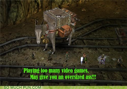 ass donkey double meaning lazy playing video games - 4765049088