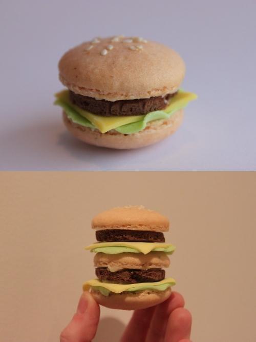 Cheeseburger Macaron Kickass Comestible - 4765066240