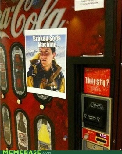 bear grylls,coke,dr pepper,pepsi,soda