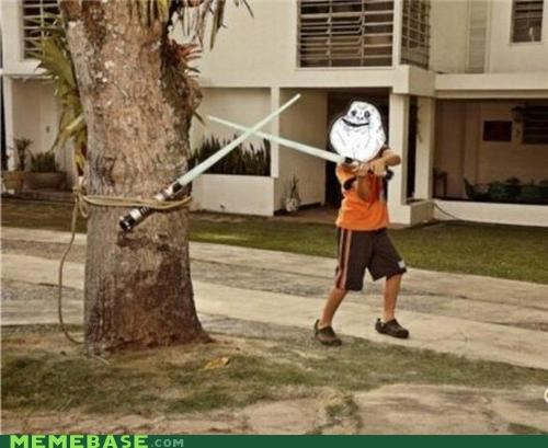 forever forever alone Jedi lightsaber skywalker star wars - 4765095936