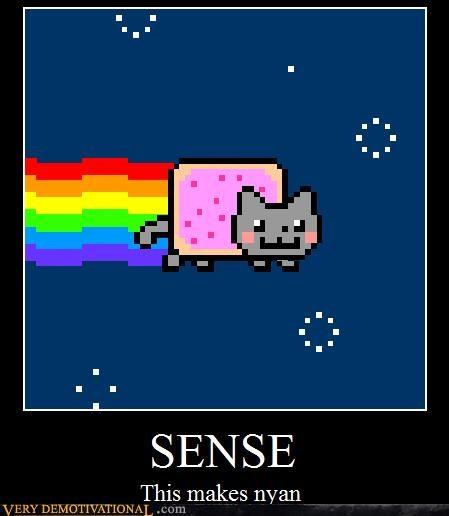 hilarious,Memes,Nyan Cat,sense,wtf