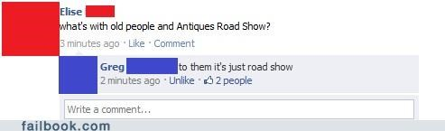 antiques road show old people witty reply - 4765478912