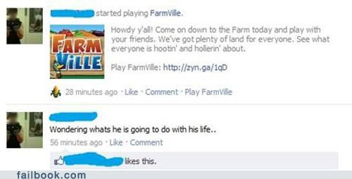 Farmville life choices noooo