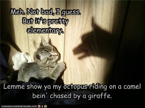caption captioned cat kitten not bad oneupsmanship shadow shadow puppets shadows technique - 4766258176