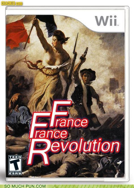 charles dickens dance dance dance revolution france la carmagnole literalism rhyming similar sounding video game - 4766258432