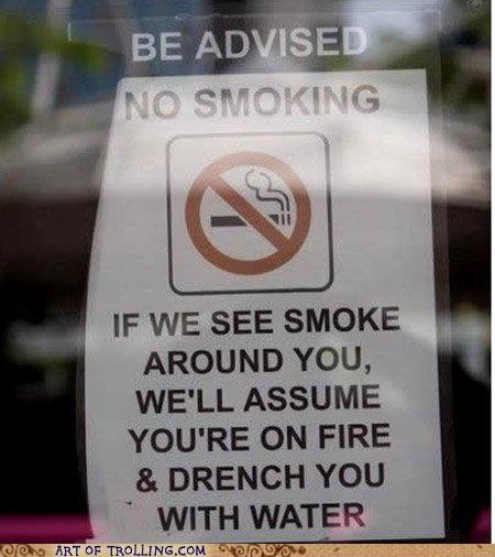 IRL no smoking sign smoking - 4766310144