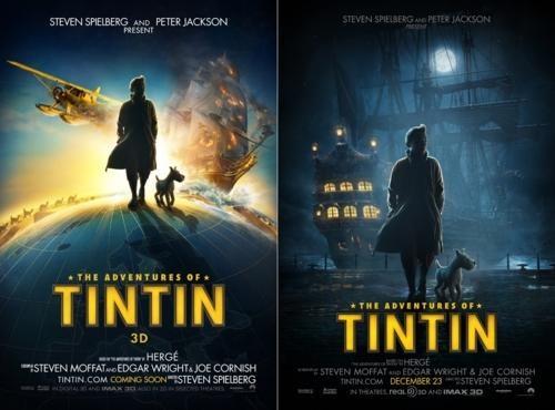 movie poster steven spielberg Tintin - 4767078656