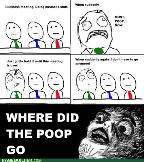 meeting poop Rage Comics ugh where - 4767188736