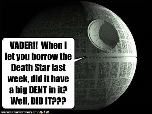 Death Star funny Movie sci fi star wars - 4767476480