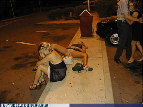 alcohol drunk passed out upskirt