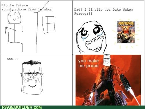 Duke Nukem,forever,Rage Comics,video games