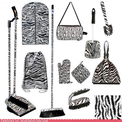 apron broom dustpan home accessories oven mitt toilet brush