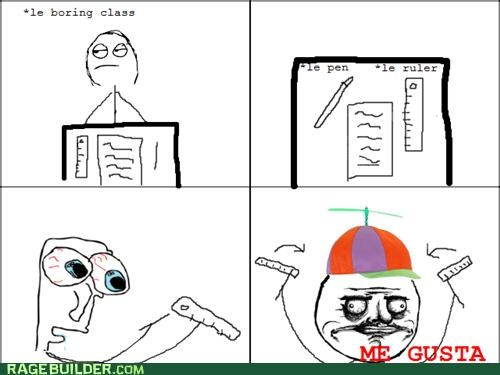 class helicopter me gusta paper Rage Comics - 4767643648