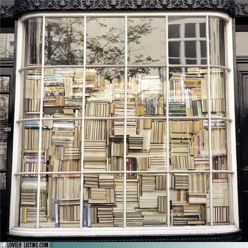 books stacks window - 4767818240