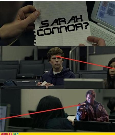 facebook,From the Movies,sarah connor,social network,terminator