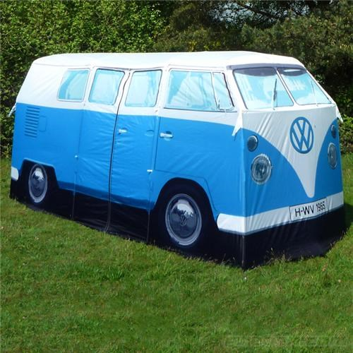 merch Tech tent volkswagen bus VW camper van - 4768155648