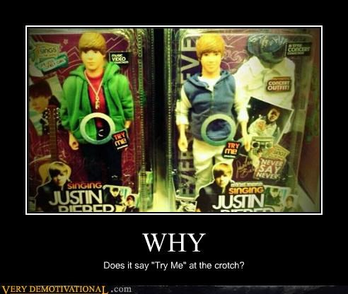 hilarious justin bieber toys try me - 4768362240
