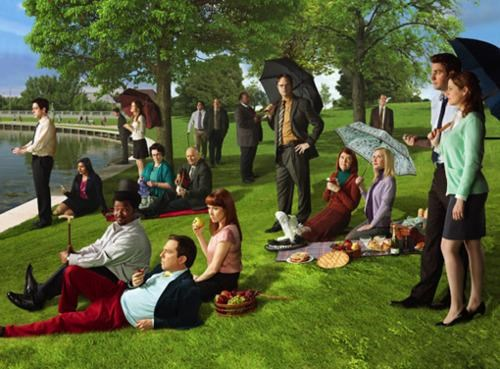 NBC Upfronts promo pic Seurat the office - 4768667136