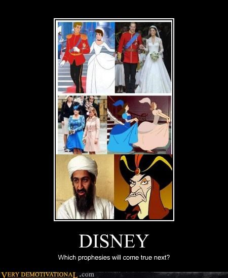 disney Hall of Fame hilarious jafar osama prophecy royal wedding