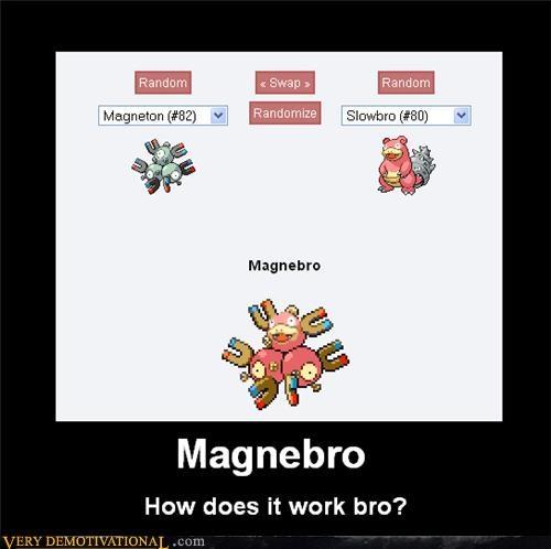 fusion,hilarious,magnetron,Pokémon,slowbro