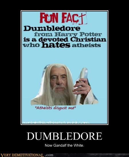 dumbledore gandalf Harry Potter hilarious Lord of the Rings movies wrong - 4768789760